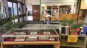 image of library display