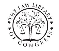 Logo of Law Library of Congress: Tree with scales of justice on branches
