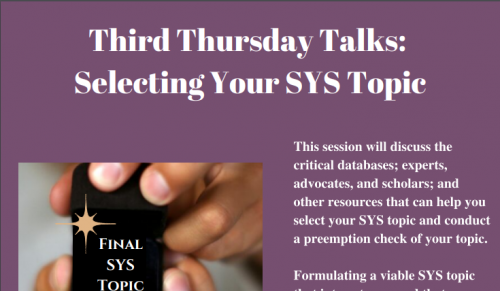 hands holding ring case that says Final Sys Topic