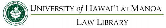 UH School of Law Library Logo