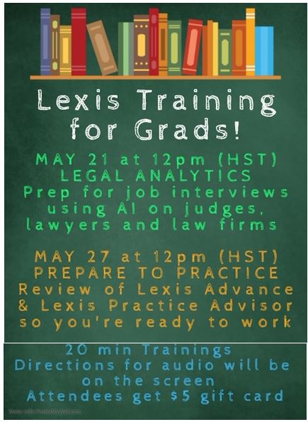 Lexis Training poster